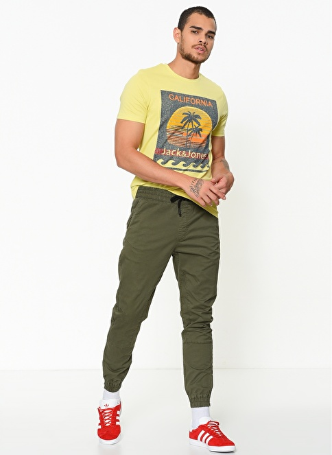 Jack & Jones Pantolon Gri